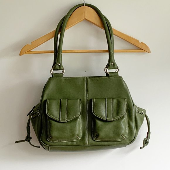 Nine West Olive Green Shoulder Bag Purse